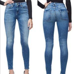 Good American Good Legs Distressed Pocket Jeans